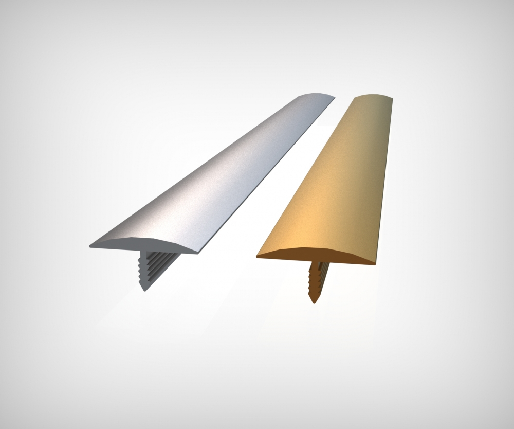 GPRT20 - 20 mm Alüm. Bombeli T Profili